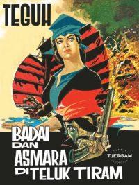 BADAI DAN ASMARA DI TELUK TIRAM - COVER